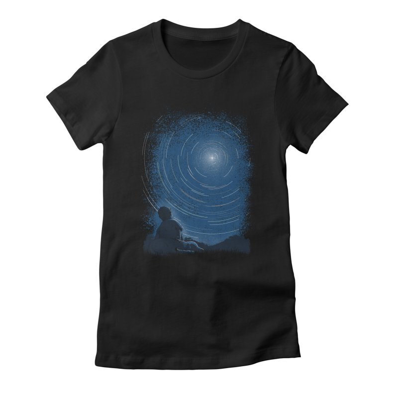 North Stare Women's Fitted T-Shirt by babitchun's Artist Shop