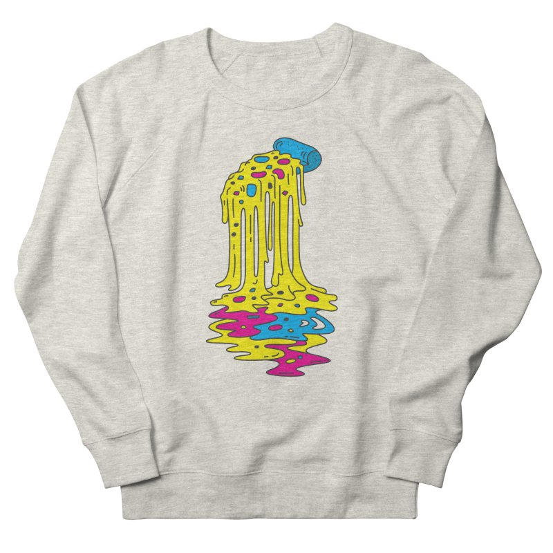 CMYK Overload Men's French Terry Sweatshirt by babitchun's Artist Shop