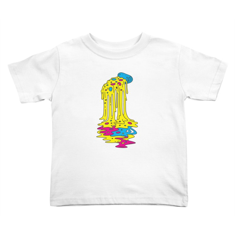 CMYK Overload Kids Toddler T-Shirt by babitchun's Artist Shop