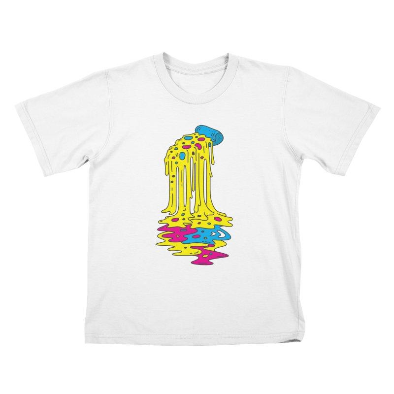 CMYK Overload Kids T-Shirt by babitchun's Artist Shop