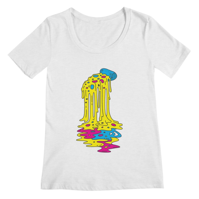 CMYK Overload Women's Regular Scoop Neck by babitchun's Artist Shop