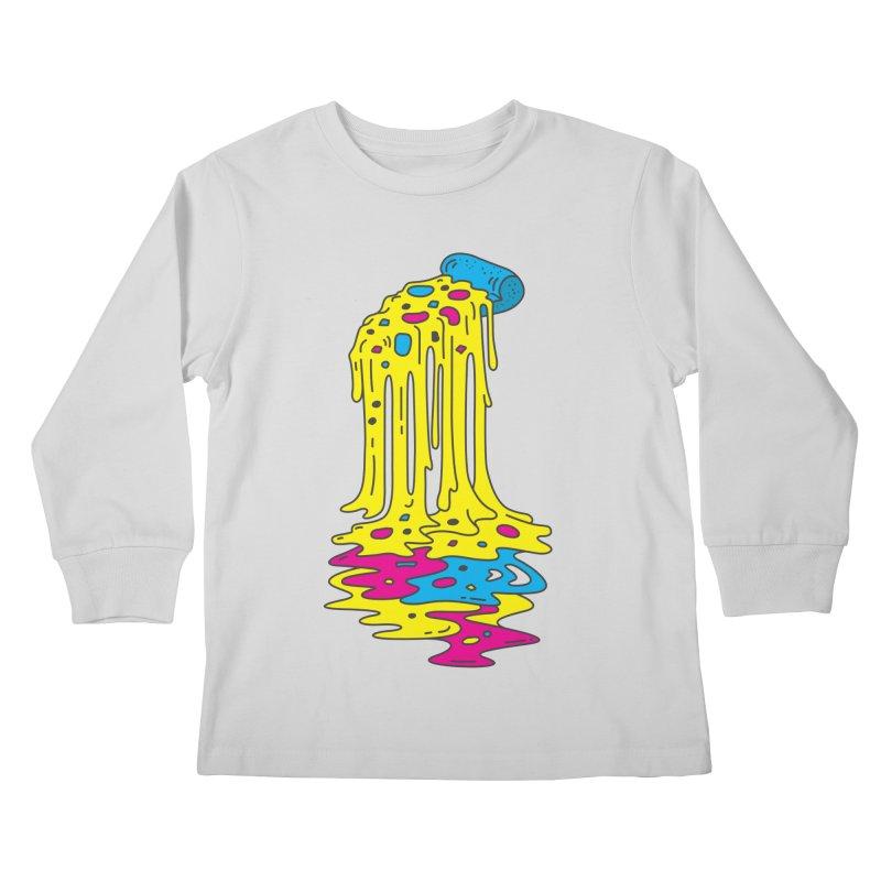 CMYK Overload Kids Longsleeve T-Shirt by babitchun's Artist Shop