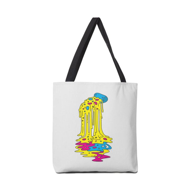 CMYK Overload Accessories Bag by babitchun's Artist Shop
