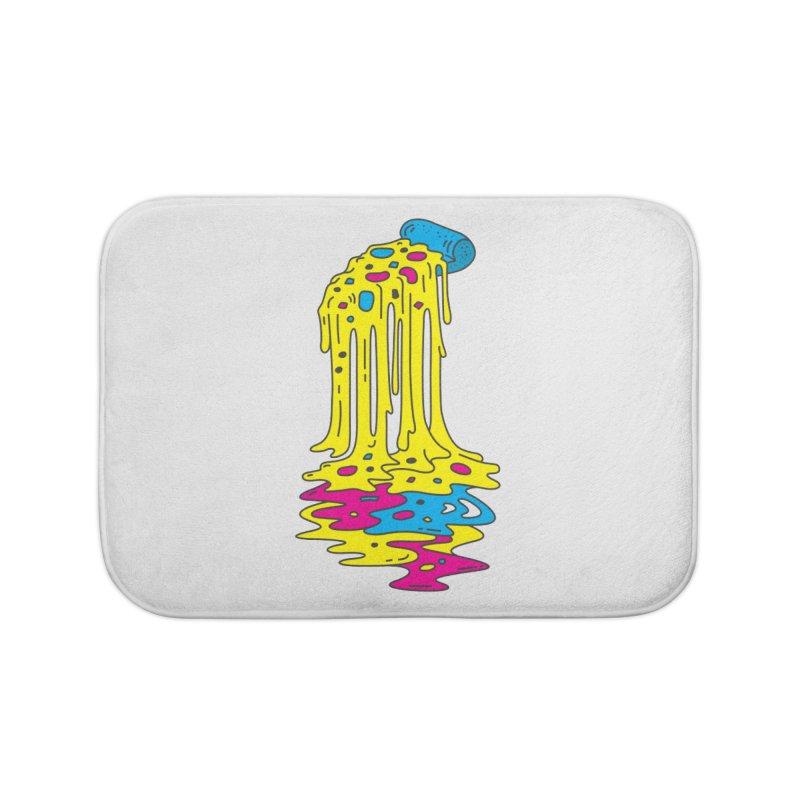 CMYK Overload Home Bath Mat by babitchun's Artist Shop