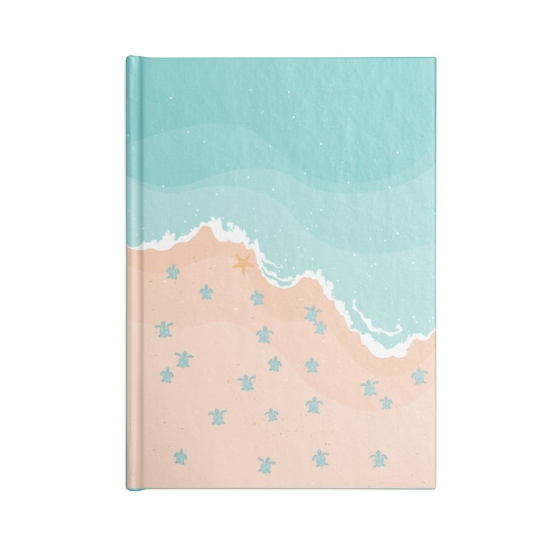 Sea Turtles Accessories Notebook by babitchun's Artist Shop