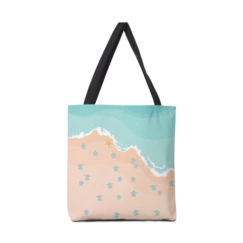 Sea Turtles Accessories Bag by babitchun's Artist Shop