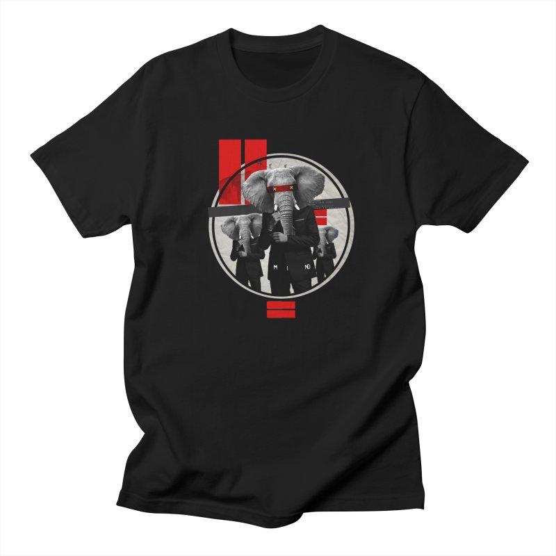 Elephants Men's T-Shirt by babu's Artist Shop