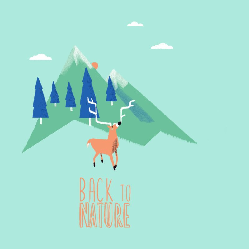 Back to Nature Kids Longsleeve T-Shirt by Babykarot Shop