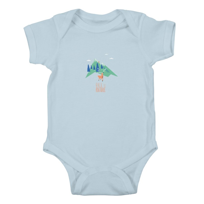 Back to Nature Kids Baby Bodysuit by Babykarot Shop