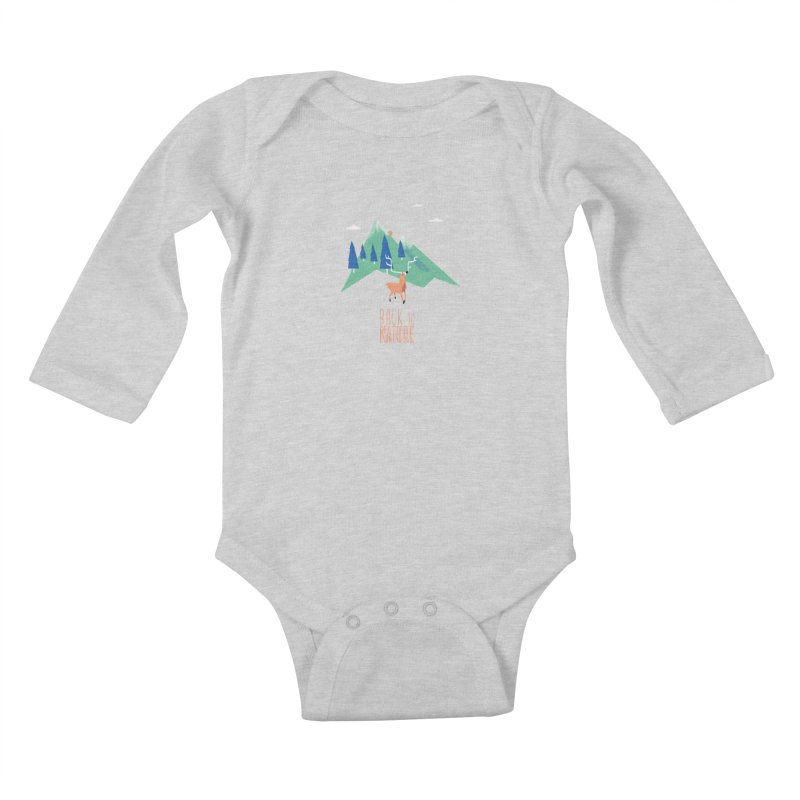 Back to Nature Kids Baby Longsleeve Bodysuit by Babykarot Shop