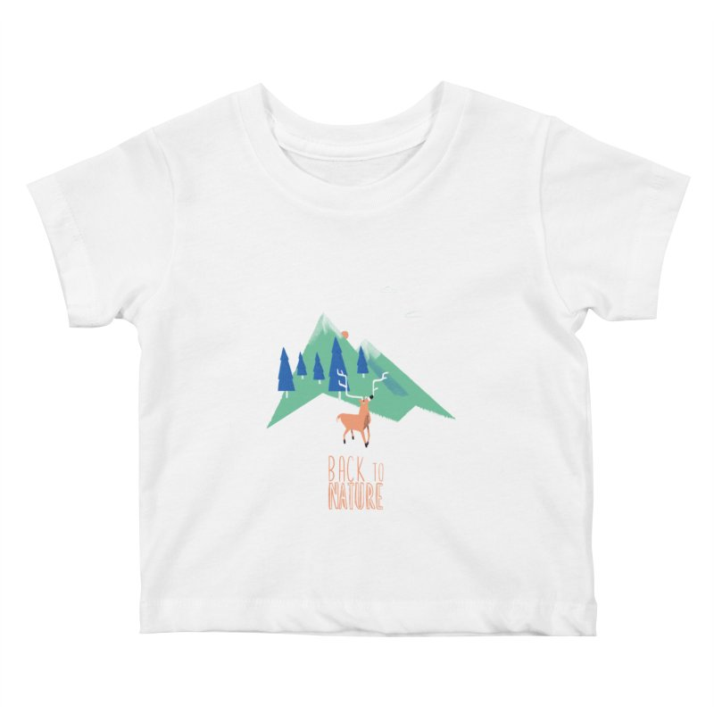 Back to Nature Kids Baby T-Shirt by Babykarot Shop