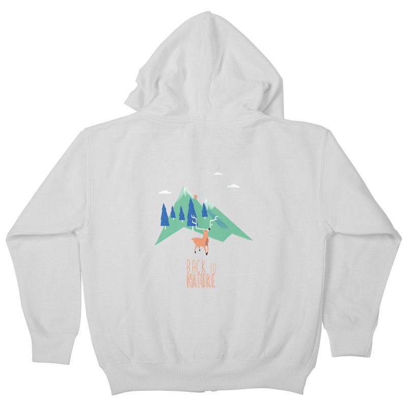 Back to Nature Kids Zip-Up Hoody by Babykarot Shop