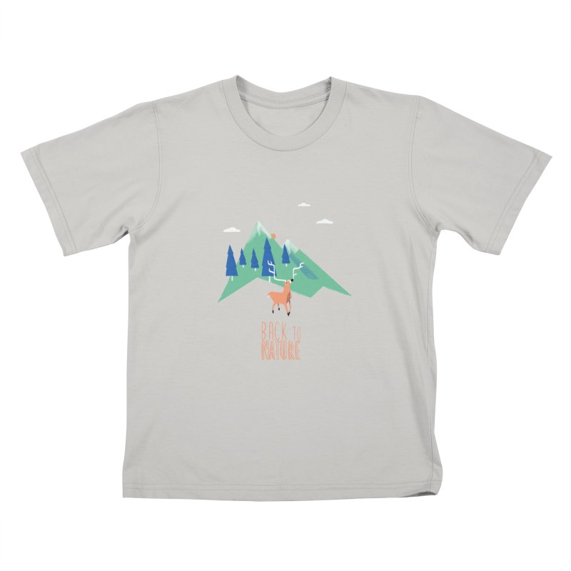 Back to Nature Kids T-Shirt by Babykarot Shop