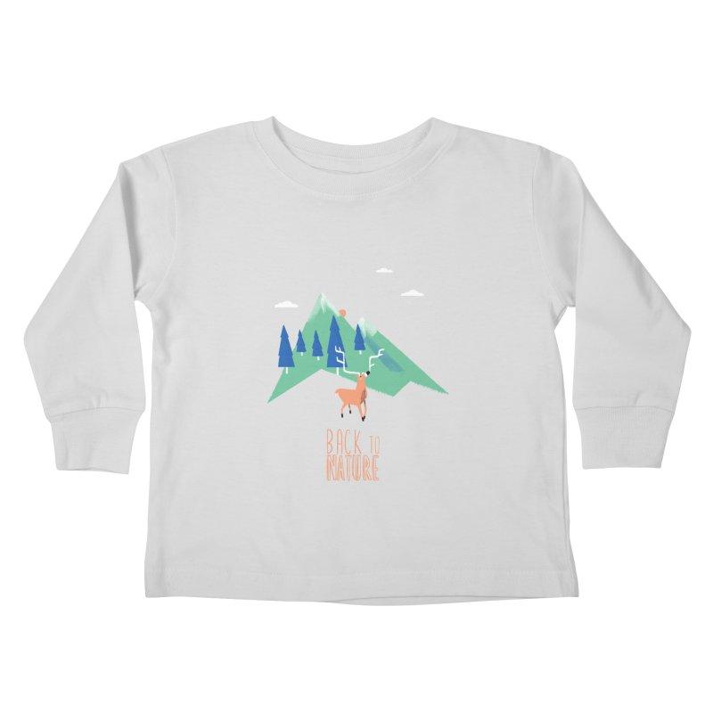 Back to Nature Kids Toddler Longsleeve T-Shirt by Babykarot Shop