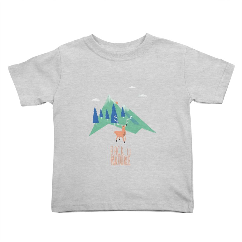 Back to Nature Kids Toddler T-Shirt by Babykarot Shop