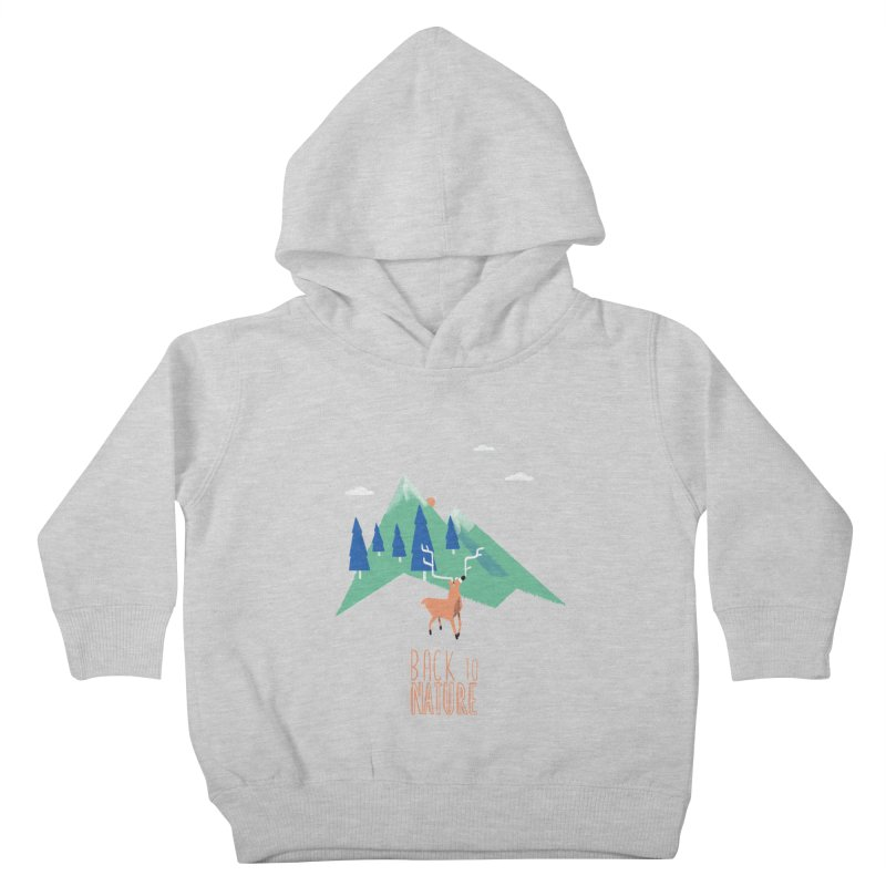 Back to Nature Kids Toddler Pullover Hoody by Babykarot Shop