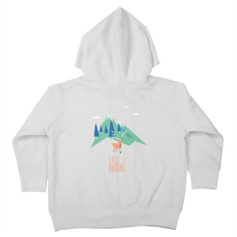 Back to Nature Kids Toddler Zip-Up Hoody by Babykarot Shop