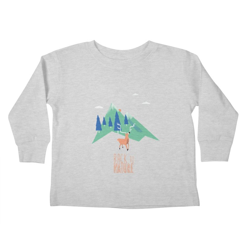 Back to Nature Kids Toddler Longsleeve T-Shirt by Babykarot Shop