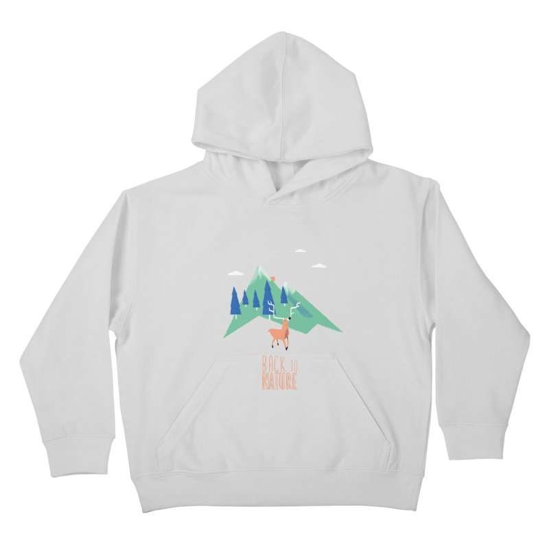 Back to Nature Kids Pullover Hoody by Babykarot Shop