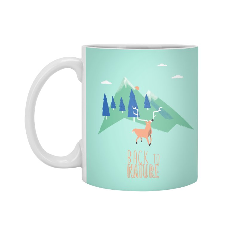 Back to Nature Accessories Standard Mug by Babykarot Shop