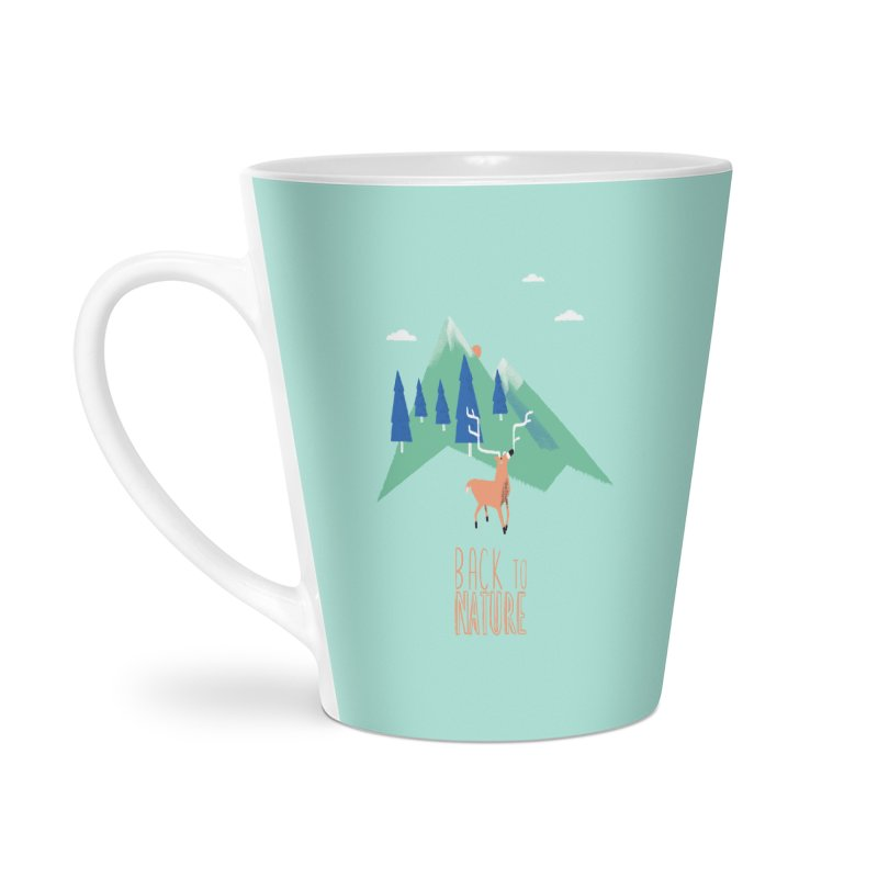 Back to Nature Accessories Latte Mug by Babykarot Shop
