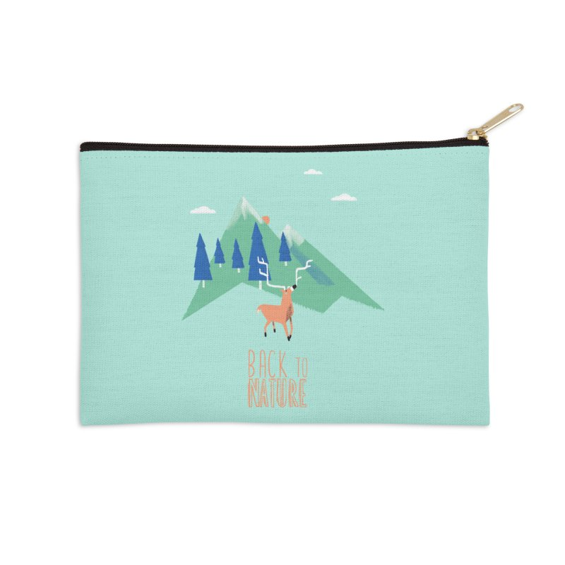 Back to Nature Accessories Zip Pouch by Babykarot Shop