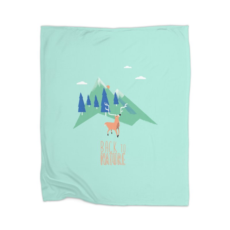 Back to Nature Home Blanket by Babykarot Shop