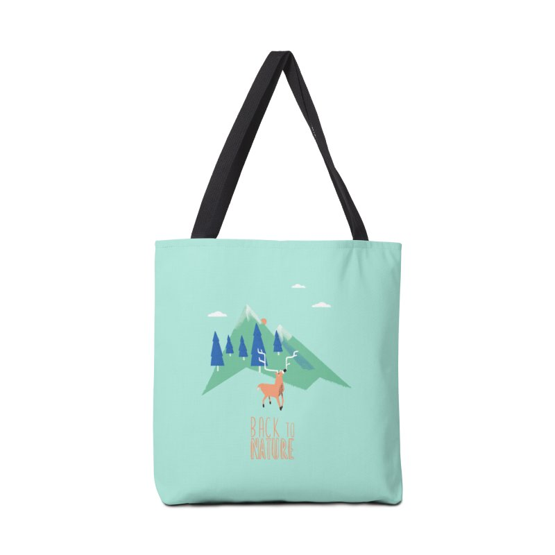 Back to Nature Accessories Tote Bag Bag by Babykarot Shop