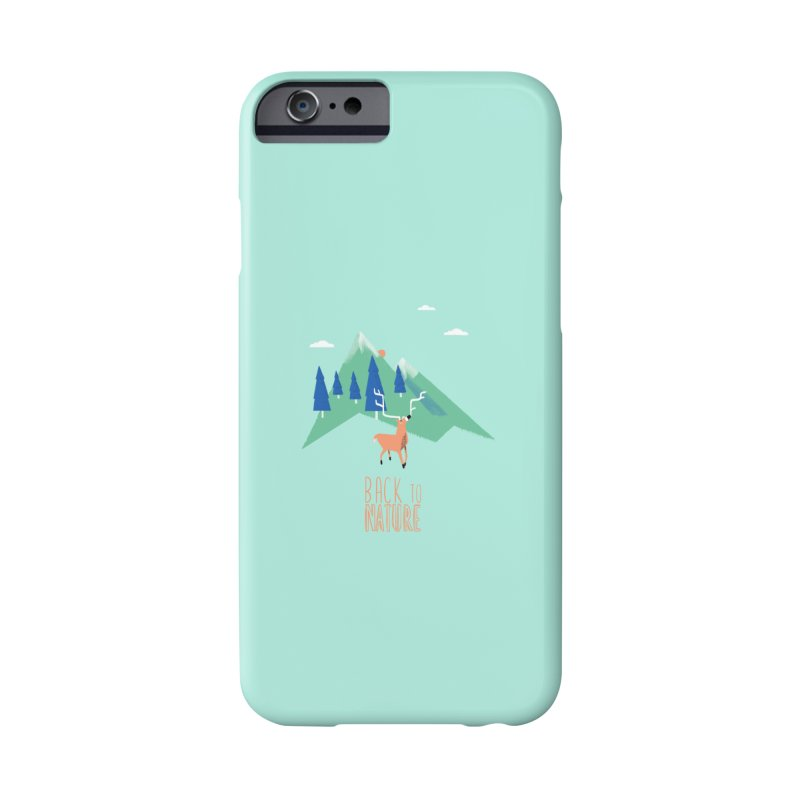 Back to Nature Accessories Phone Case by Babykarot Shop