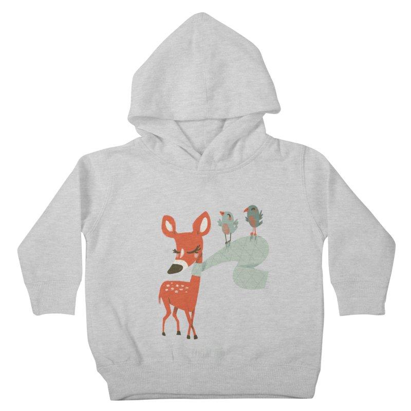 Winter Deer Kids Toddler Pullover Hoody by Babykarot Shop