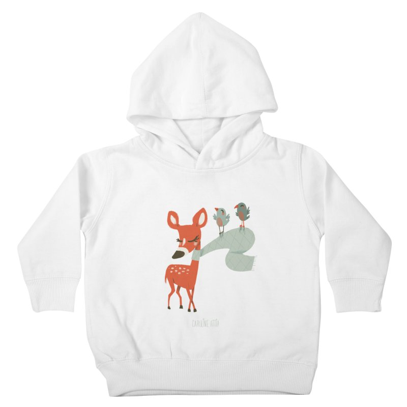 Winter Deer Kids Toddler Pullover Hoody by Babykarot Shop
