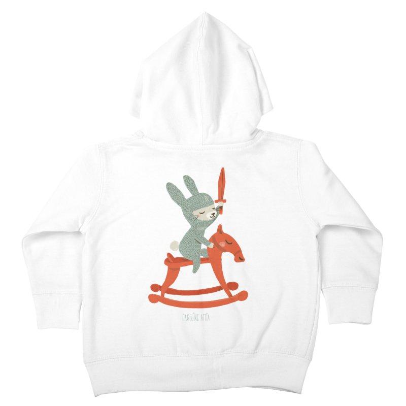 Rabbit Knight Kids Toddler Zip-Up Hoody by Babykarot Shop