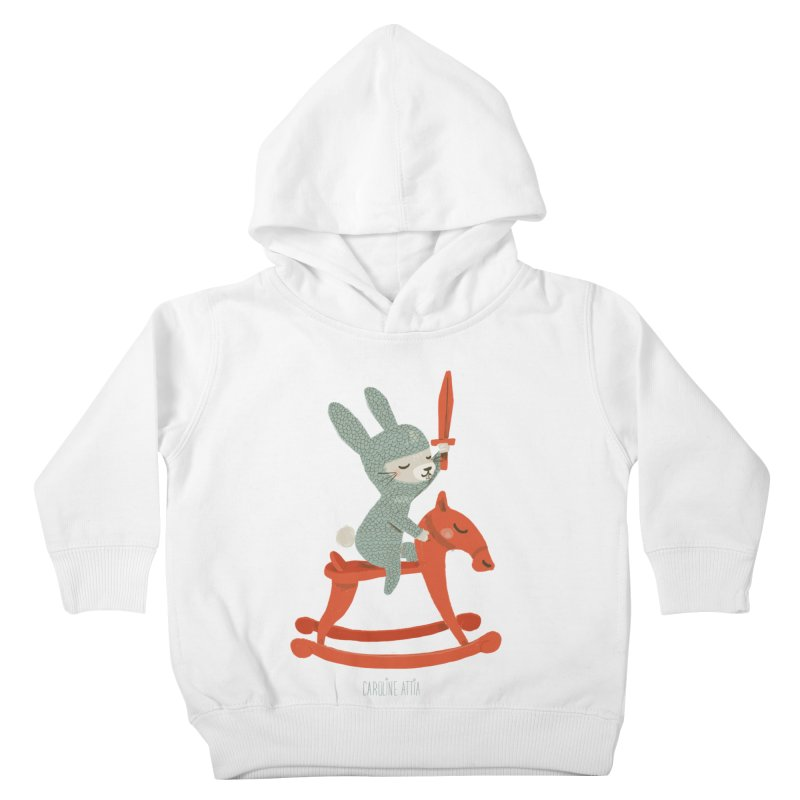 Rabbit Knight Kids Toddler Pullover Hoody by Babykarot Shop