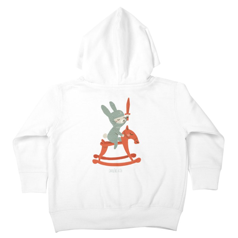 Rabbit Knight Kids Toddler Zip-Up Hoody by Babykarot Shop