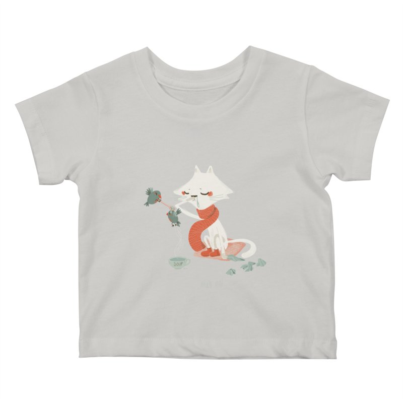 Sneeze Cat in Kids Baby T-Shirt Stone by Babykarot Shop