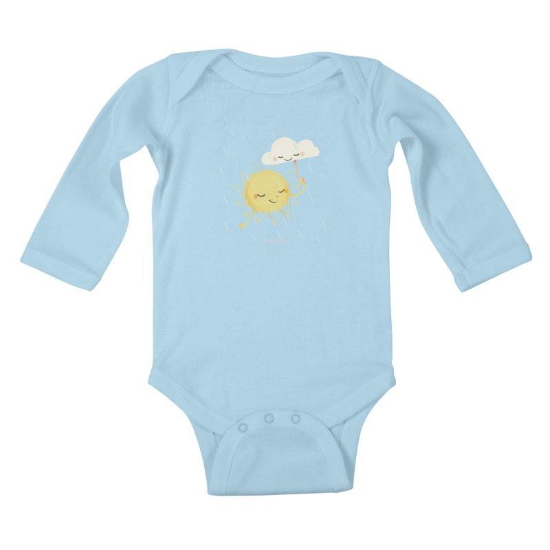 Little Sun Kids Baby Longsleeve Bodysuit by Babykarot Shop