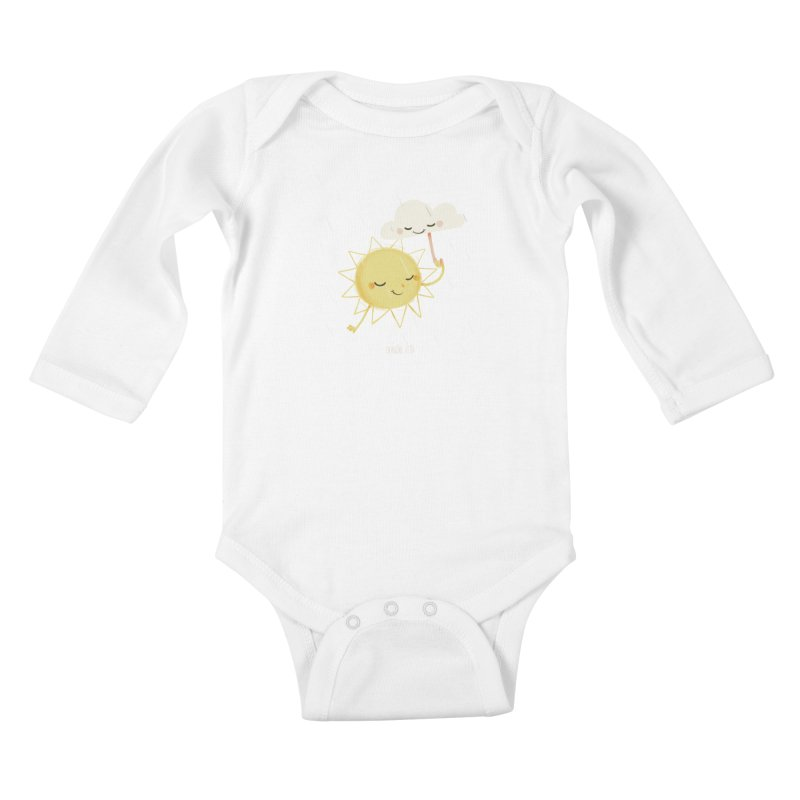 Little Sun Kids Baby Longsleeve Bodysuit by Babykarot Shop