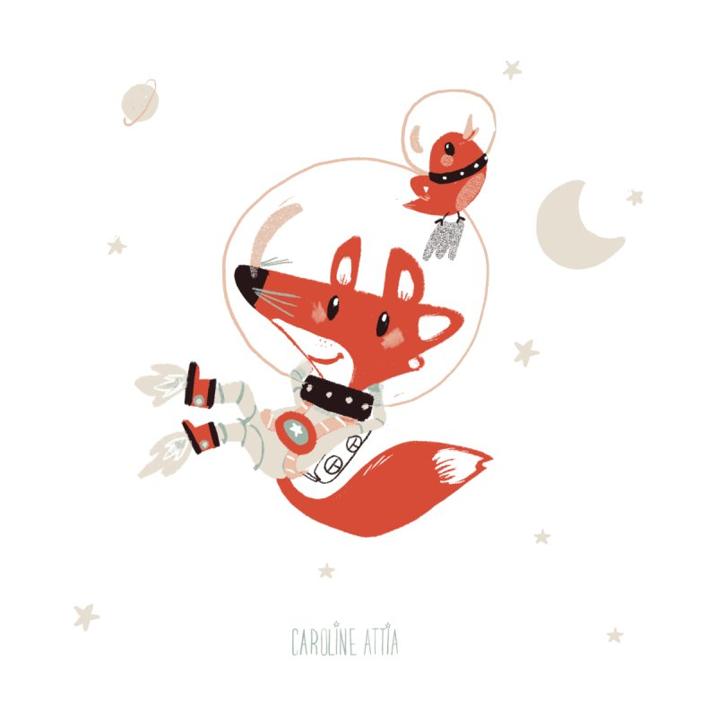 Space Fox   by Babykarot Shop