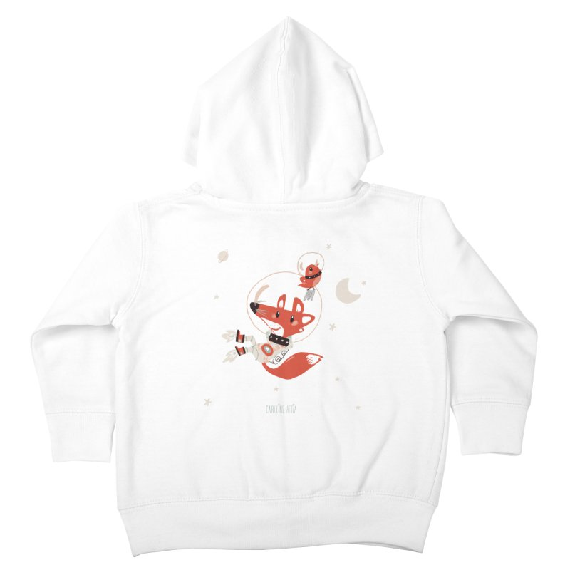 Space Fox Kids Toddler Zip-Up Hoody by Babykarot Shop