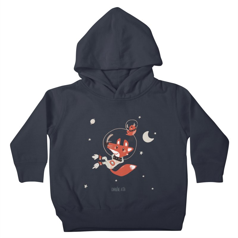 Space Fox Kids Toddler Pullover Hoody by Babykarot Shop