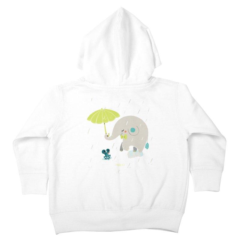Rainy Elephant Kids Toddler Zip-Up Hoody by Babykarot Shop