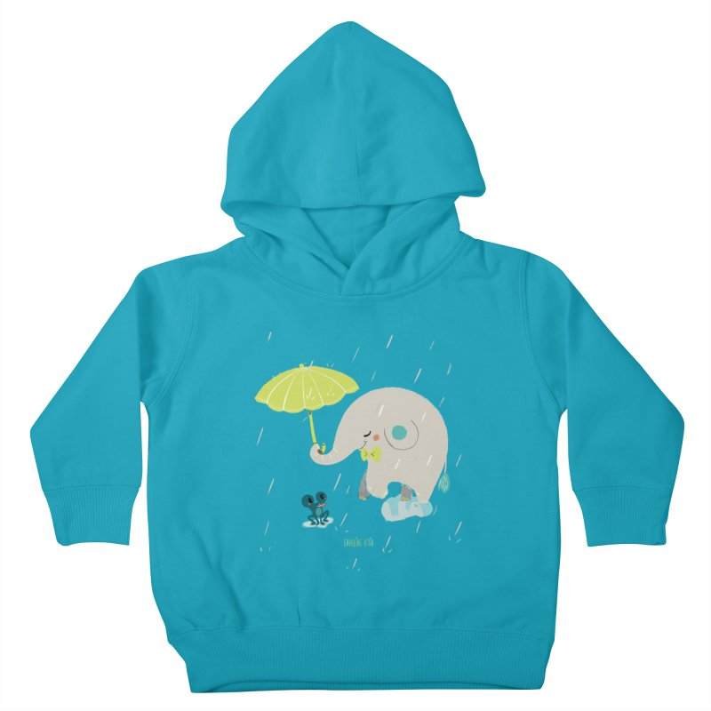 Rainy Elephant Kids Toddler Pullover Hoody by Babykarot Shop