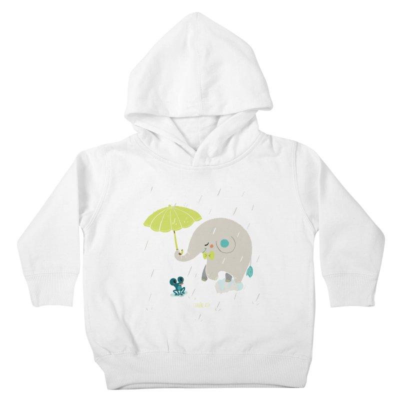 Rainy Elephant Kids Toddler Pullover Hoody by Babykarot Shop