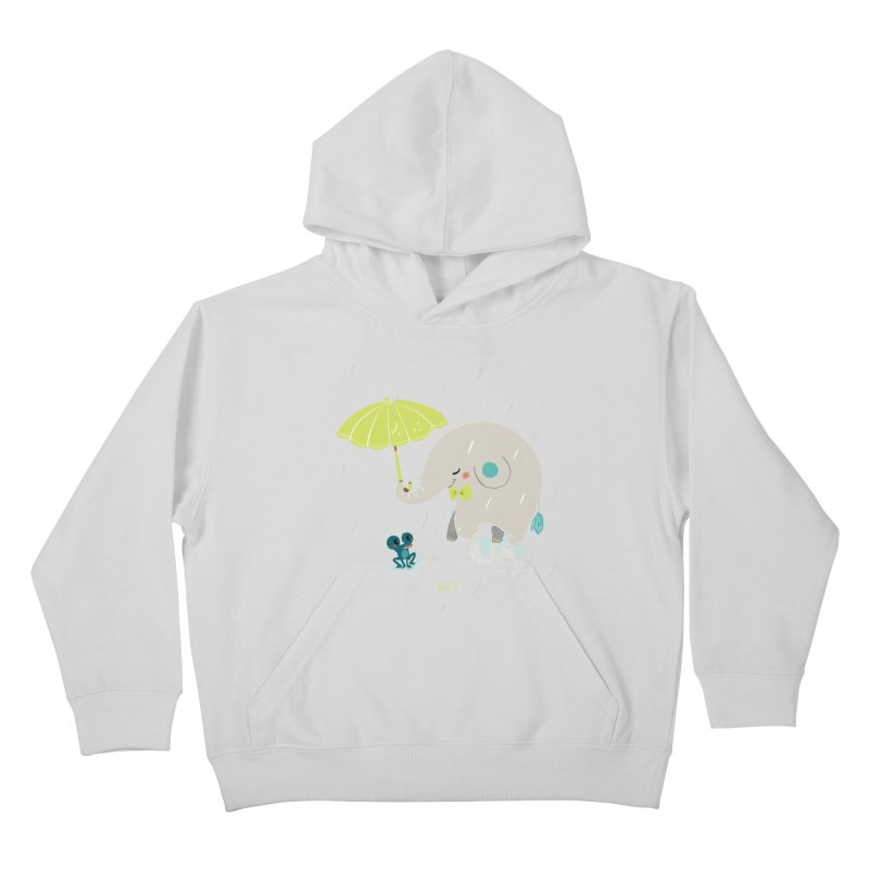 Rainy Elephant Kids Pullover Hoody by Babykarot Shop