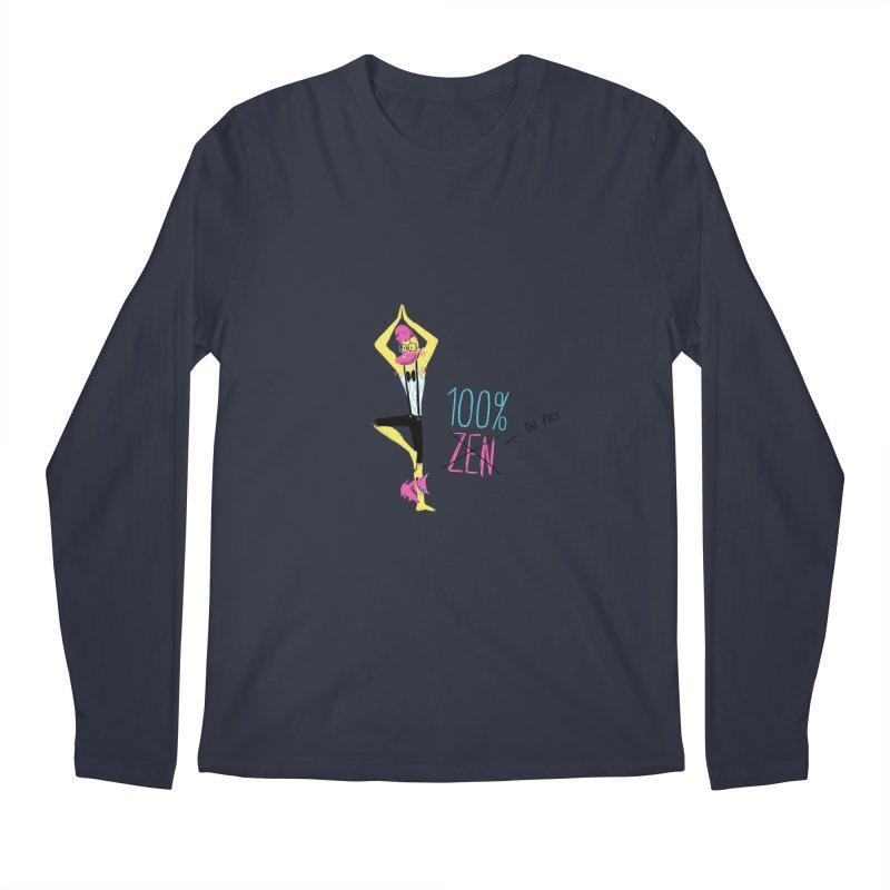 100%Zen Men's Longsleeve T-Shirt by Babykarot Shop
