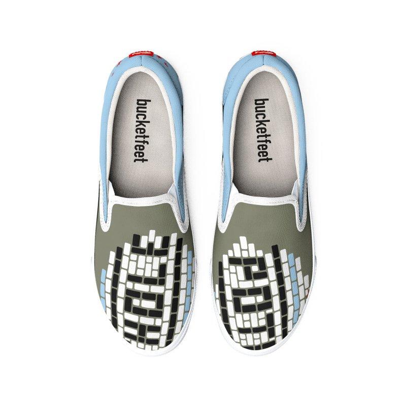 POTHOLE merchandise Men's Shoes by bachor's pothole artist shop