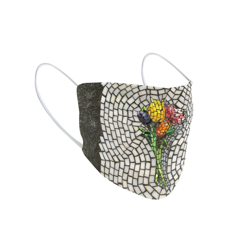 NYC Bouquet Accessories Face Mask by bachor's pothole art shop