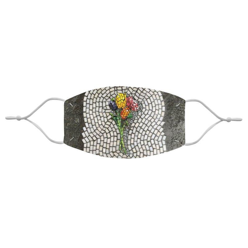 NYC Bouquet Accessories Face Mask by bachor's pothole art shop