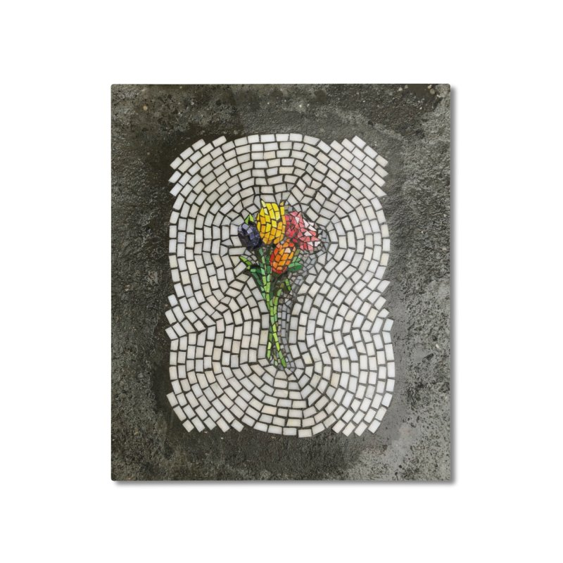 NYC Bouquet Home Mounted Aluminum Print by bachor's pothole art shop