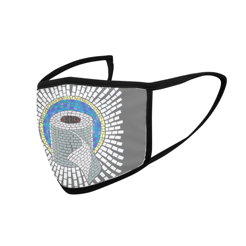 """Holy Trinity / Toilet Paper"" Accessories Face Mask by bachor's pothole art shop"